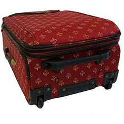 American Flyer Lyon Red 4 Piece Luggage Set