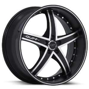 Ruff Racing R953 22x9 22x10 Honda Toyota Infiniti Nissan Rims Black