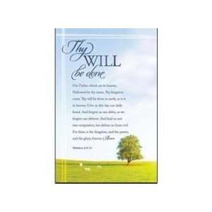 Bulletin Thy Will Be Done/Lords Prayer (Package of 100
