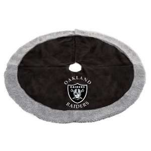 48 NFL Oakland Raiders Logo Christmas Tree Skirt: Home