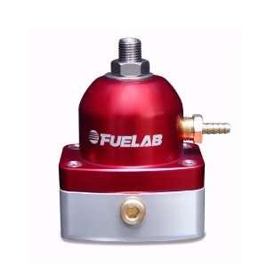 Universal Red EFI Adjustable Mini Fuel Pressure Regulator Automotive