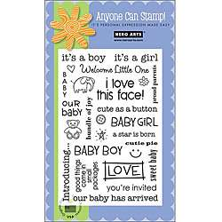 Hero Arts Baby Clear Stamps