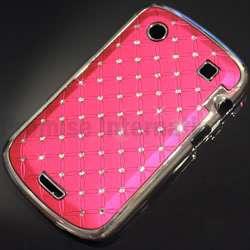 Swarovski Crystal Bling Hard Case Cover   BlackBerry Bold 9900 9930