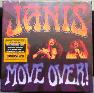 JANIS JOPLIN move over 4x 7 NEW Sealed RSD 2011 #d 4696 Black Friday