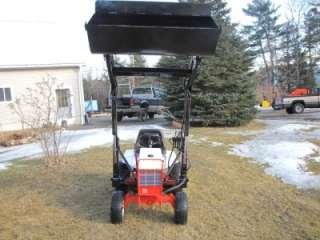 Gravely Riding Tractor Bucket Loader, Mower Deck, Onan Engine, Hydro