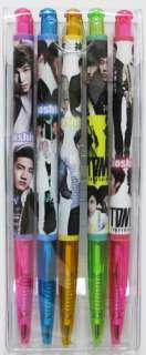 PEN SET#5EA SUJU SNSD SHINee B2ST 4MINUTE JYJ CNBlue BIGBANG 2PM TVXQ