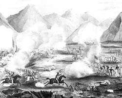The Battle of Sacramento   Currier and Ives
