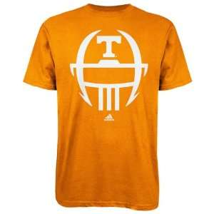 Tennessee Volunteers Light Orange adidas 2012 Football Sideline Helmet