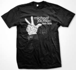 Michael Jackson Glove Memorial T Shirt Clothing