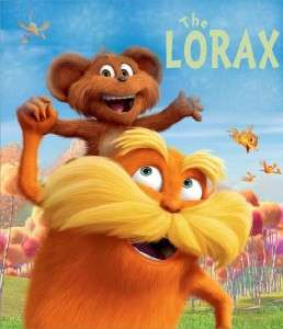 The Lorax Movie Dr. Seuss Iron on Transfer