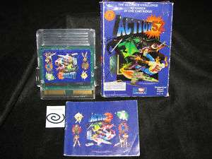 Action 52 (NES) Manual & Box Great Find ** Free S&H ** RARE REV B