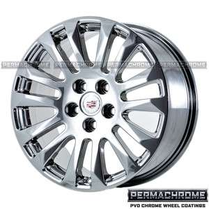 2011 CADILLAC CTS COUPE 18 PVD CHROME WHEELS 4669 4673