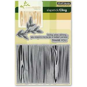 Black Cling Rubber Stamp 5X7.5 Inspiring: Arts, Crafts & Sewing