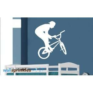 BMX Bike Vinyl Wall Art Decor Decal Sticker  Kitchen