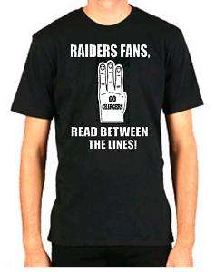 CHARGERS HATE RAIDERS FUNNY FOOTBALL SAN DIEGO SHIRT