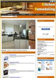 Money Making Kitchen Remodeling Advice Website Business