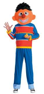 Sesame Street Bert Ernie Oscar Cookie Adult Costume Set