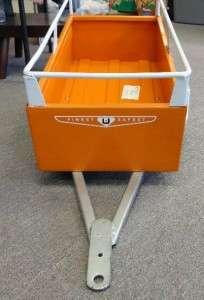 Vintage 1960s U Haul Pressed Steel Trailer for Pedal Car!