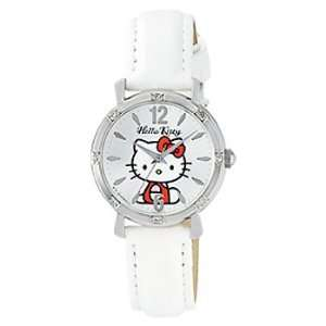 Classic Hello Kitty Round Face Quartz Watch for Children