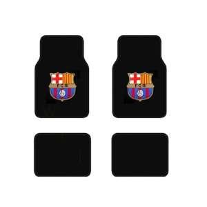 Barcelona FC Football Soccer Club Front & Rear Carpet Car Truck SUV