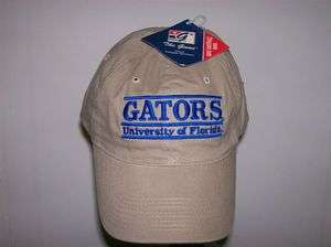 Florida Gators Low Profile Bar Style Buckle Strap Adjustable Fit Hat