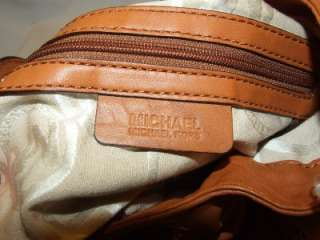 Michael Michael Kors Drawstring & Stud Hobo Bag Purse Handbag Leather