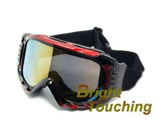 Red&Black Snowboarding Snow board Ski Skiing Goggles Dual Anti Fog
