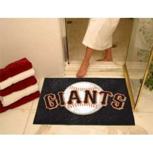 San Francisco Giants 34 x 44 Bath Mat