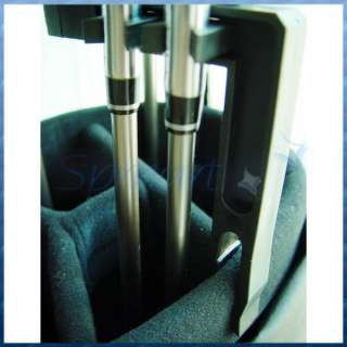 Slots Golf Iron Club Shafts Protection Holder Portable Accessories