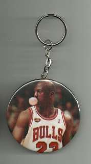 Michael Jordan Chicago Bulls Button Pin/Back / Keychain / Magnet 2 1/4