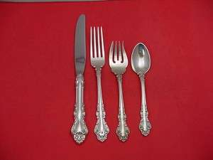 BAROQUE BY REED & BARTON STERLING SILVER FLATWARE SET SERVICE