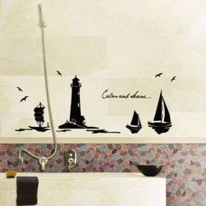 GS 802 LIGHTHOUSE Graphic Wall Art Decor Decals Sticker