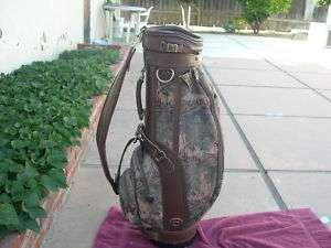 Daiwa 8 Vintage Staff Golf Bag Very Nice