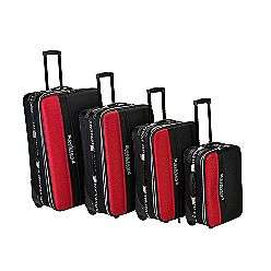 PIECE LUGGAGE SET  Rockland Fox Luggage For the Home Luggage