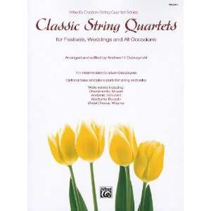 Ovation String Quartet Series) (0038081396002) Andrew H. Dabczynski