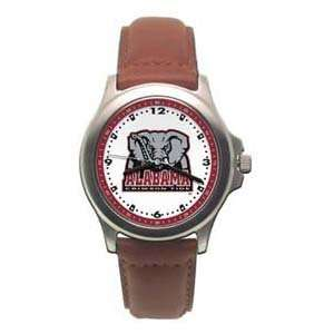 Crimson Tide Ladies Rookie Leather Watch   Clearance/Stainless Steel