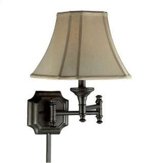 Kenroy Home Wentworth 17 Swing Arm Wall Lamp Decor