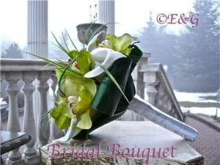 Wedding Bouquets Bouquet Bridal Bridesmaids Groom Silk Flowers