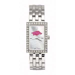 Arkansas Razorbacks Ladies NCAA Starlette Watch (Bracelet