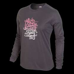 Nike Nike Pro Basic Long Sleeve (NYC Marathon) Womens T Shirt Reviews