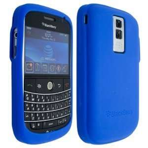 Blue High Quality Soft Silicone For Blackberry Bold 9000