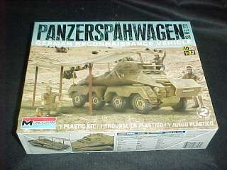 Monogram Panzerspahwagon armored military land vehicle 1/32 model kit
