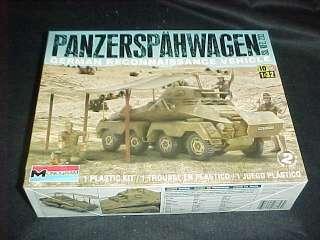 Monogram Panzerspahwagon armored military land vehicle 1/32 model kit