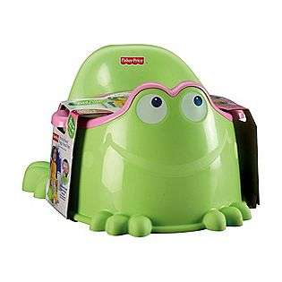 Pink Froggy Potty  Fisher Price Baby Diapering Potty Training