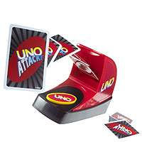 UNO Attack Card Game   Mattel