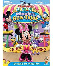 Disney Mickey Mouse Clubhouse Minnies Bow tique DVD   Walt Disney