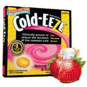 Cold Eeze Lozenge Strawberry Cream 18 Lozenges Beauty