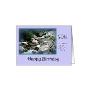 Happy Birthday Son   River Card: Toys & Games