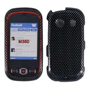 For Samsung Seek M350 Accessory   Carbon Fiber Design Hard