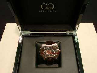 BRAND NEW CURTIS & CO BIG TIME GRAND LIMITED EDITION 50MM WATCH